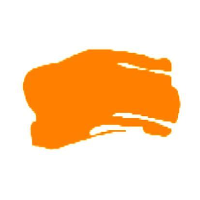 Brustro Arists' Acrylic 120ml Flourescent Orange