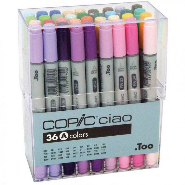 Copic 36 Ciao Markers Set A