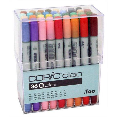 Copic 36 Ciao Markers Set B