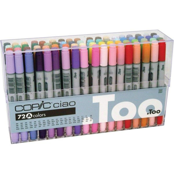 Copic 72 Ciao Markers Set A