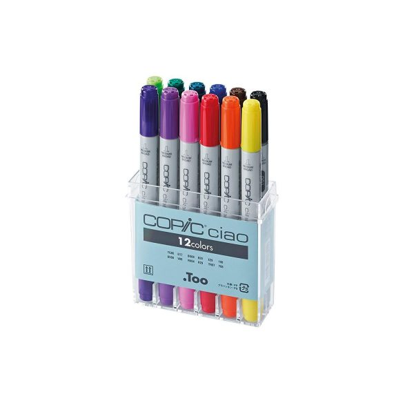 Copic 12 Ciao Markers Set
