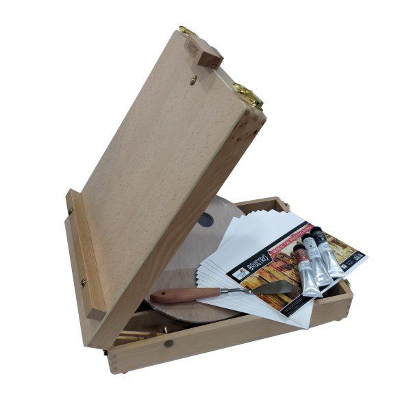 Brustro Creative Oil Box Easel Set