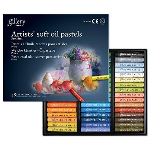 Mungyo Soft Oil Pastels (48 Colours)