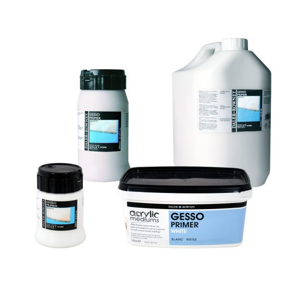 Daler-Rowney Artists White And Black Gesso Primers(OPEN STOCK)