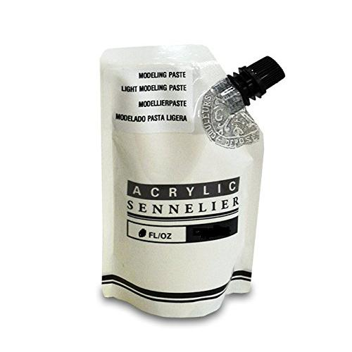 Sennelier Acrylic Light Modeling Paste 500 ml Pouch (Made in France)