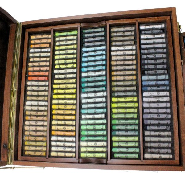 Sennelier The Royal Selection Wooden Box Set 250 Assorted Soft Pastel