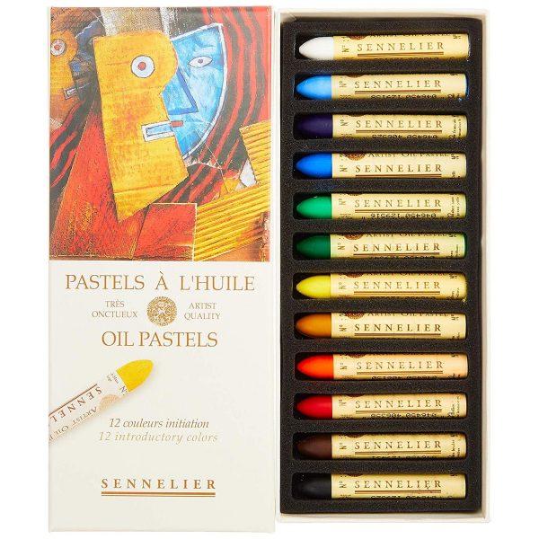 Sennelier Oil Pastel Intro Set Of 12