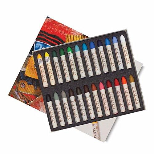 Sennelier Oil Pastel Set of 24 - Assorted