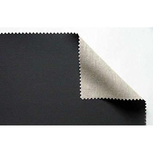 Brustro Black Polycotton Canvas Rolls 787 (Made In Italy) (OPEN STOCK)