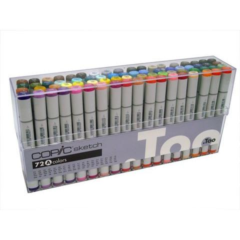 Copic Sketch Marker Set 72 A