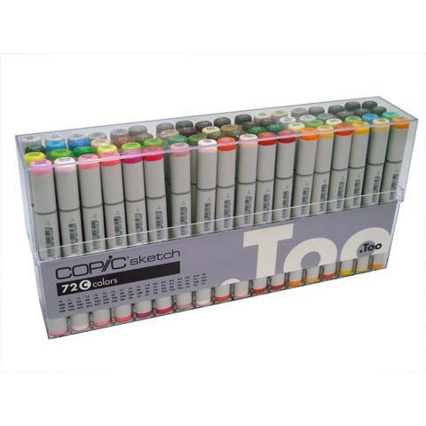 Copic Sketch Marker Set 72 C