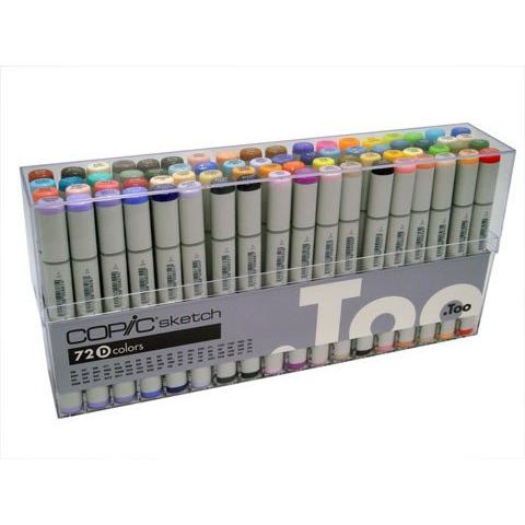 Copic Sketch Marker Set 72 D