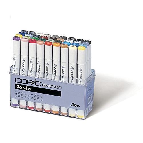 Copic Sketch Marker Set 36 Color Set