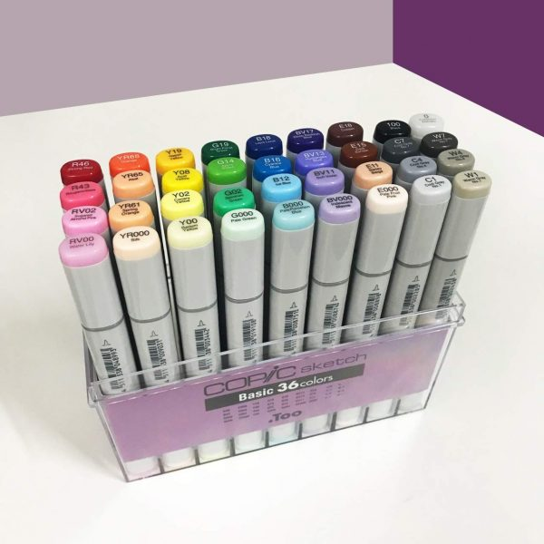 COPIC Sketch 36 Colors Holiday Season Gift Set (Limited Edition)