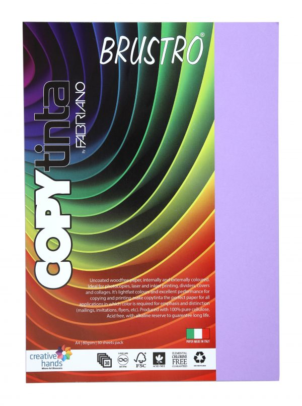 Fabriano Copy Tinta A4 Violetta (Pack of 2)