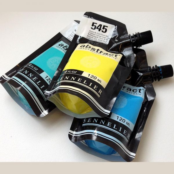 Sennelier Abstract Artist Acrylic pouch 120ML (Open Stock)