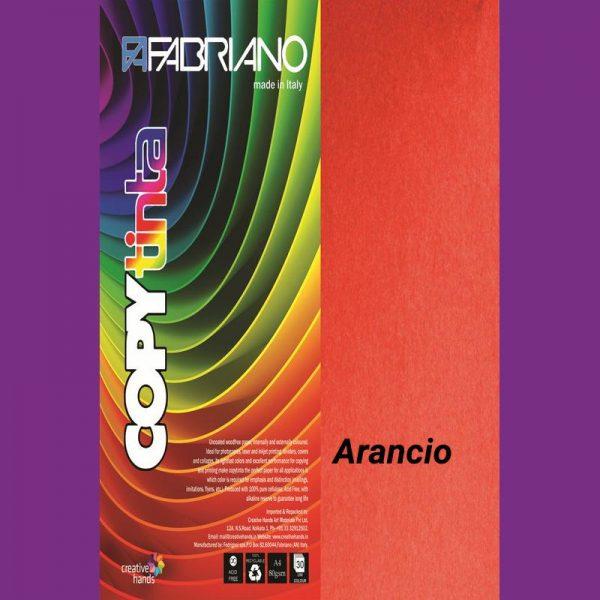 Fabriano Copy Tinta A4 Arancio (Pack of 2)