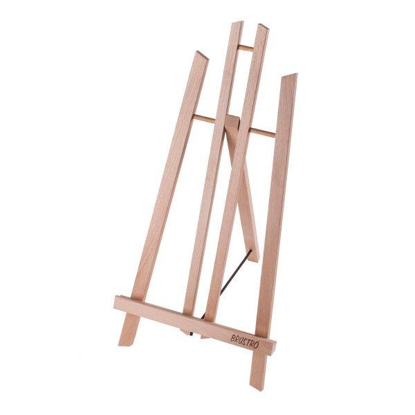 Brustro Artists' Tabletop A-Frame Wooden Easel 17