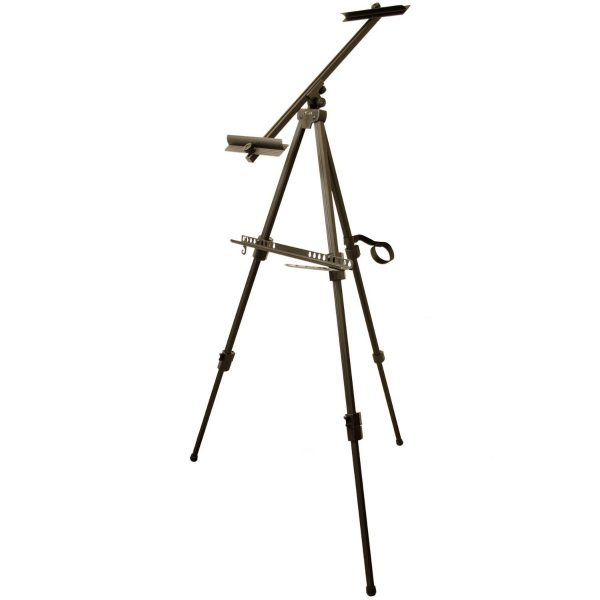 """Brustro Artist's Bristol Watercolour Folding Metal Painting Easel, Holds Canvases Upto 68.8"""""""