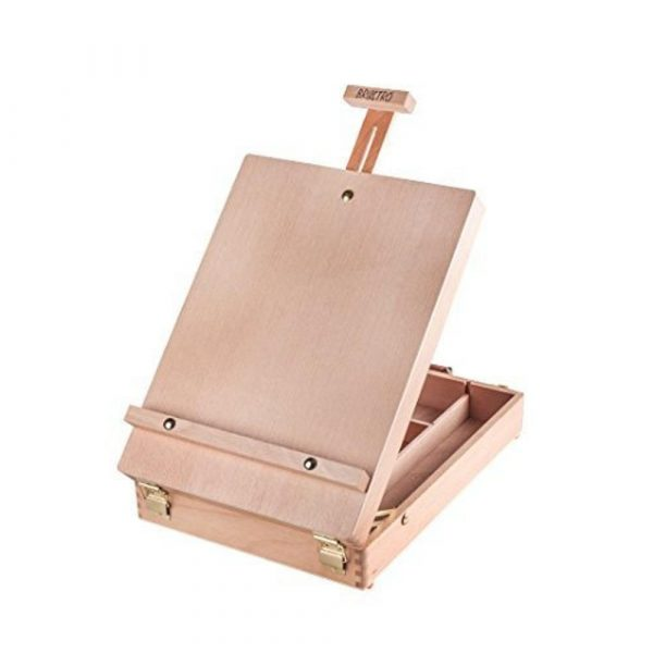 Brustro Artists' Tabletop Portable Wooden Box Easel