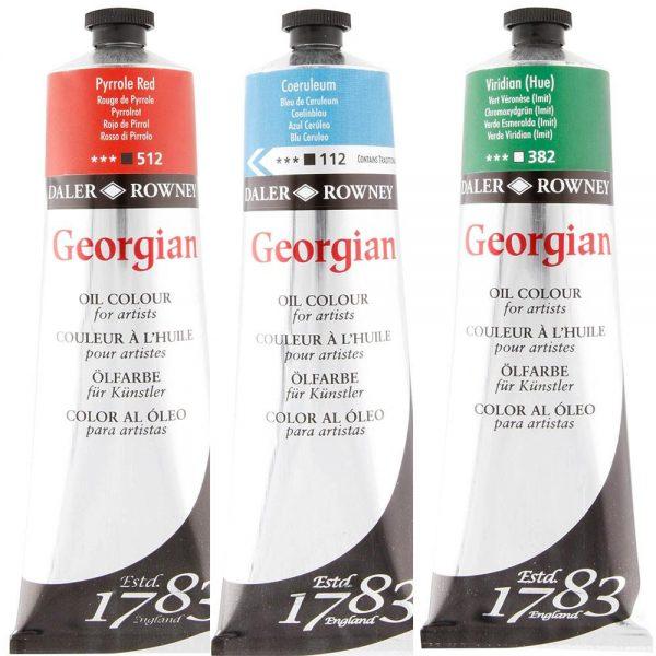 Daler-Rowney Georgian Oil Colour 225 ML ( Open Stock)