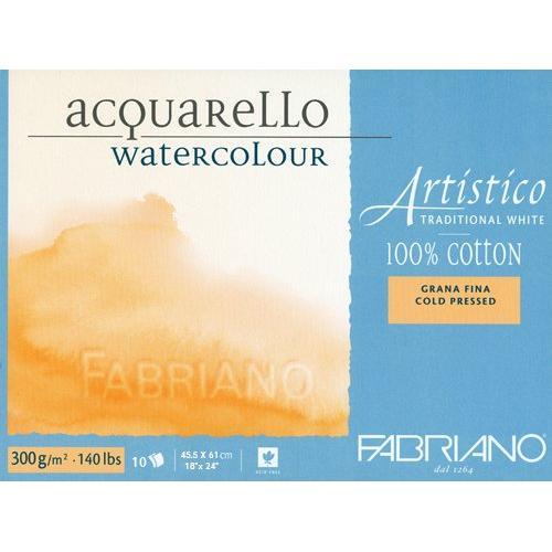 Fabriano Artistico Traditional White Watercolour Blocks (OPEN STOCK)