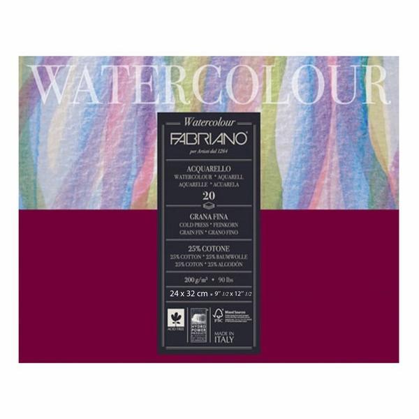 Fabriano Studio Watercolor Blocks CP 200 GSM (OPEN STOCK)