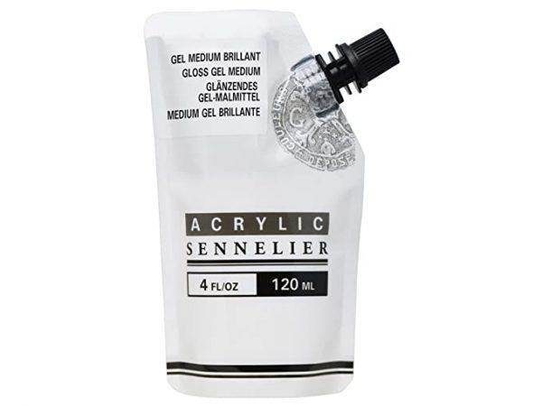 Sennelier Acrylic White Gesso 120 ml Pouch
