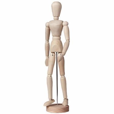 "Brustro Artists' Human Manikin 8"" - Female"
