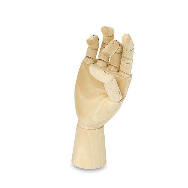 Brustro Wooden Hand Manikin 10 inches