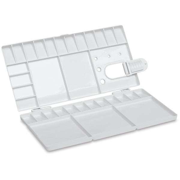 Brustro Folding Box 33 Well Plastic Palette 26X13CM