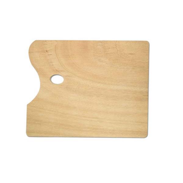 Brustro Rectangle Plain Wooden Palette 40X30CM