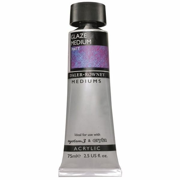 Daler-Rowney Glaze Medium Matt 75 ML