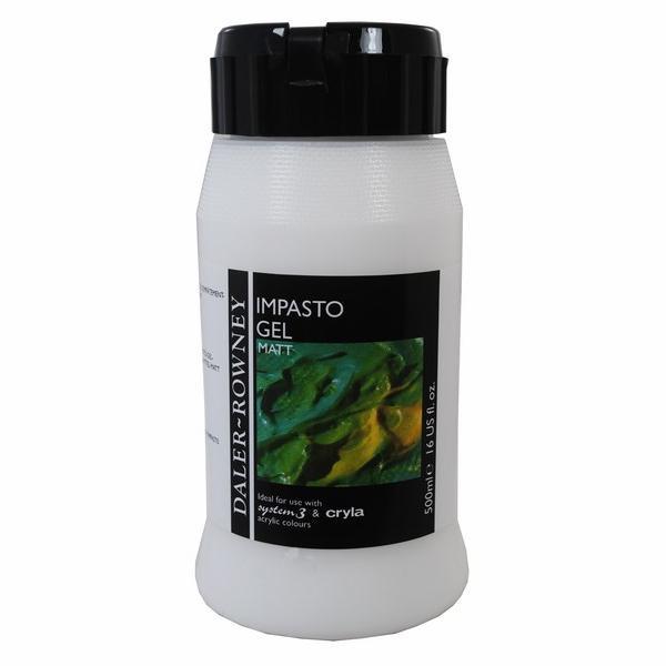 Daler-Rowney Impasto Gel Medium Matt 500 ML