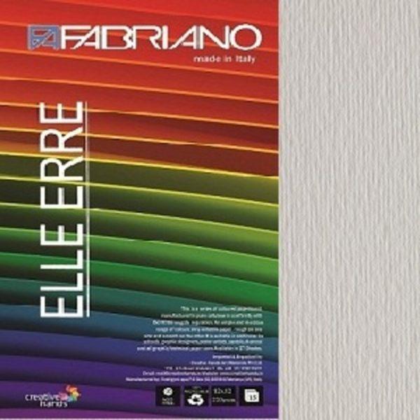 Fabriano Elle Erre 12X12 Bianco