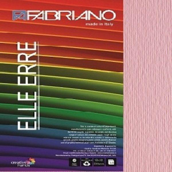 Fabriano Elle Erre 12X12 Rosa
