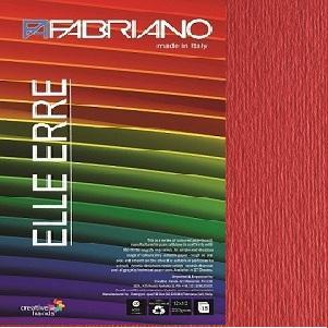 Fabriano Elle Erre 12X12 Rosso
