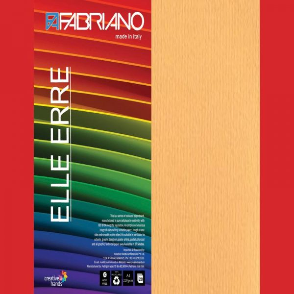 Fabriano Elle Erre A4 Avana (Pack of 2)