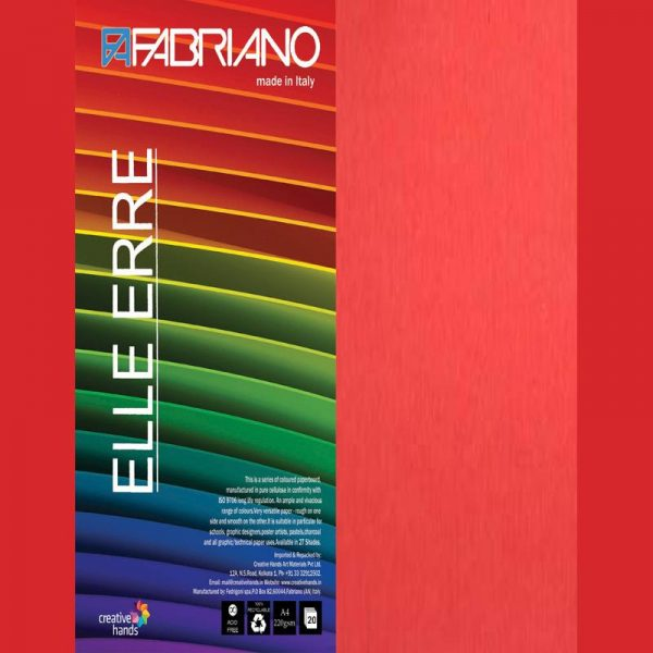 Fabriano Elle Erre A4 Arancio (Pack of 2)