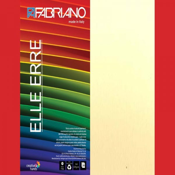 Fabriano Elle Erre A4 Onice (Pack of 2)