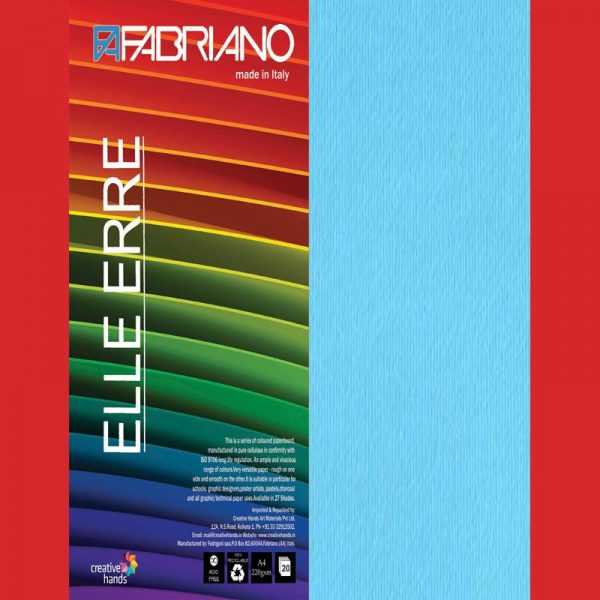 Fabriano Elle Erre A4 Cielo (Pack of 2)