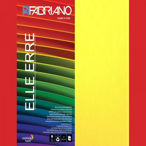 Fabriano Elle Erre A4 Cedro (Pack of 2)