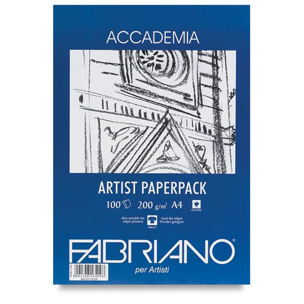 Fabriano Accademia Drawing Artists Paperpack 200 GSM A4 (Pack of 100)