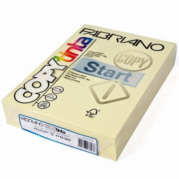 Fabriano Copy Tinta A4 Banana (Jumbo Pack of 500)