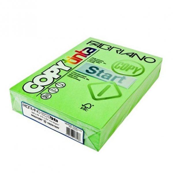 Fabriano Copy Tinta A4 Verde Chiaro (Jumbo Pack of 500)