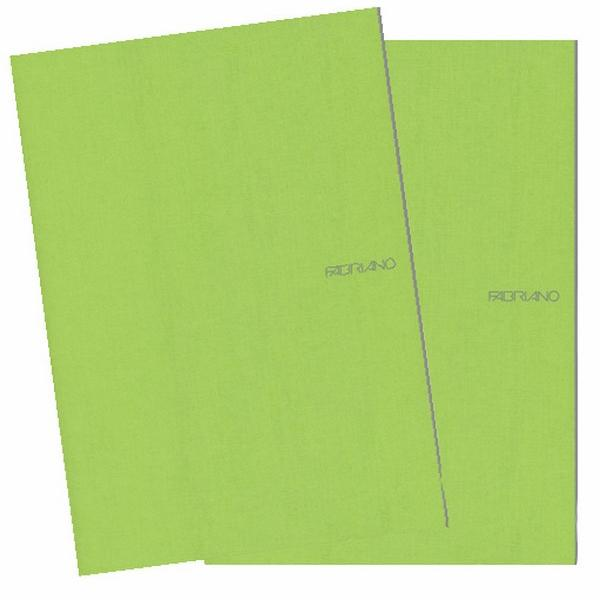 Fabriano Ecoqua A4 Staple Bound Blank Notebook Lime (Pack of 2)