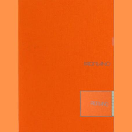 Fabriano Ecoqua A4 Staple Bound Graph 5MM Notebook Orange (Pack of 2)