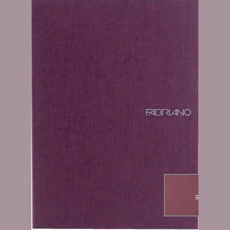 Fabriano Ecoqua A4 Staple Bound Graph 5MM Notebook Purple (Pack of 2)