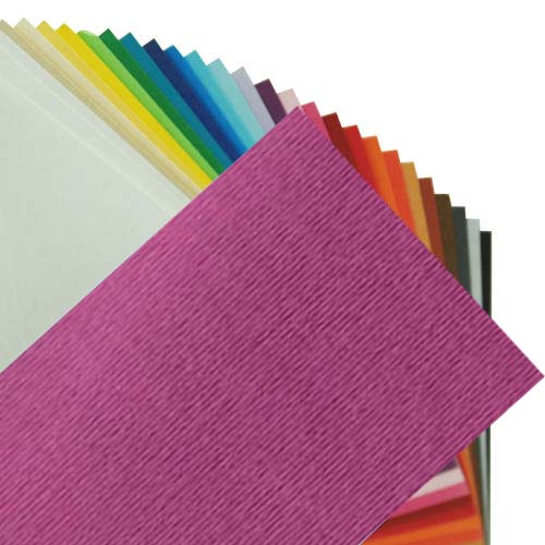Fabriano Elle Erre Sheet 50 X 70 CM Viola (Pack of 10)