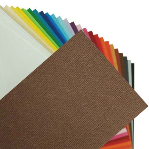 Fabriano Elle Erre Sheet 50 X 70 CM Marrone (Pack of 10)